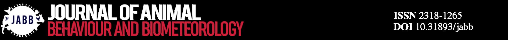 Journal of Animal Behaviour and Biometeorology